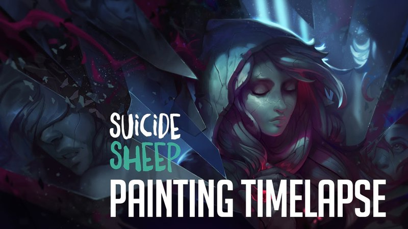 Stuck in Time   Digital Painting Timelapse