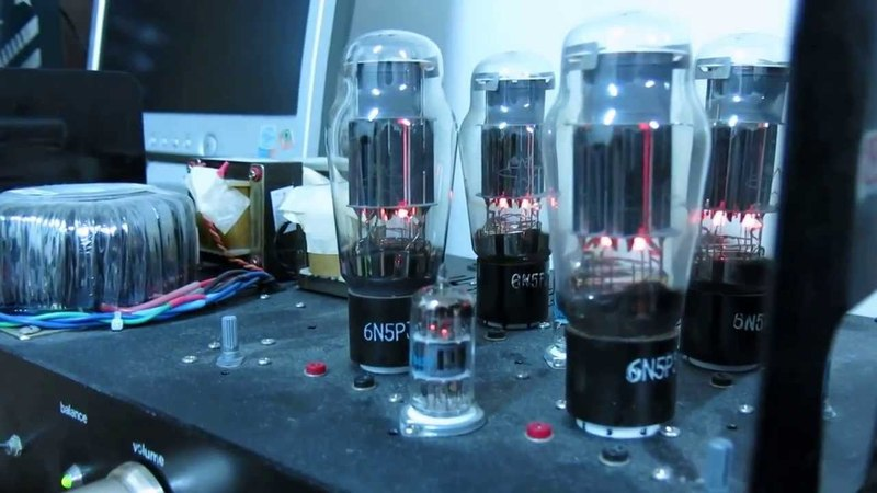 DIY 6U8A6N5P OTL Tube Amplifier膽機