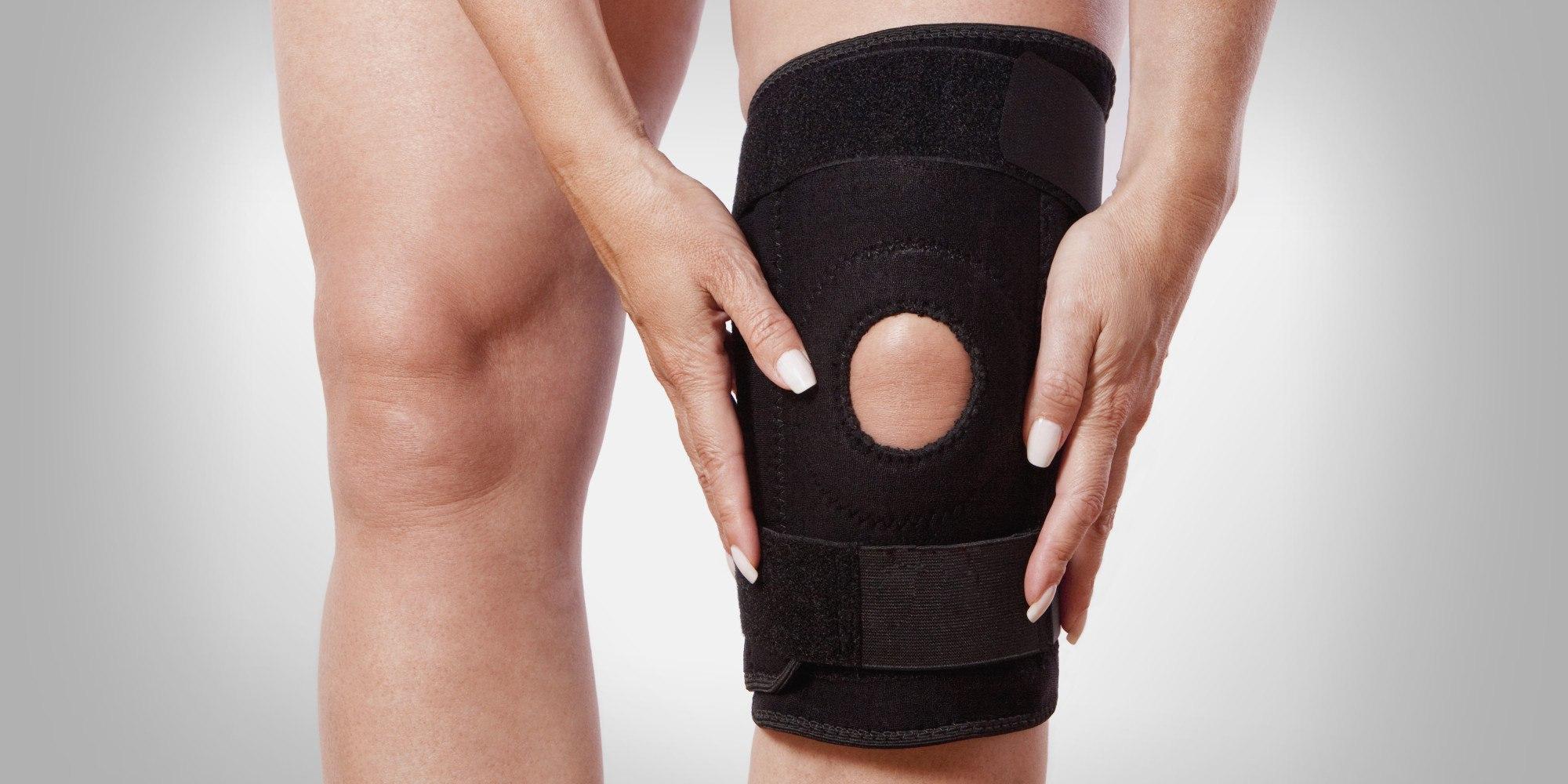 Что такое бандаж для колена?