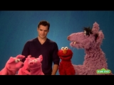 Sesame Street_ Henry Cavill Elmo teach Respect to the Big Bad Wolf