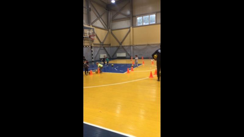 Тренировка ФШ Юниор Ледовый дворец Витязь дети 3-4 года