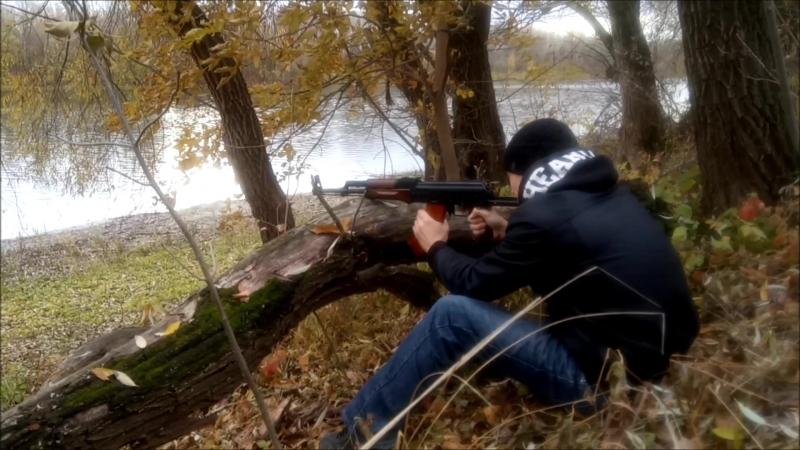 стрельба с Акмс река Самара