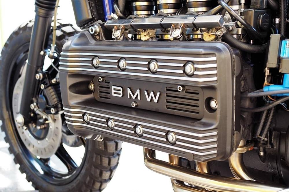 Kustom Moto: городской скрэмблер BMW K100