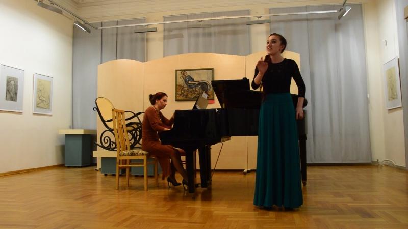 Юлия Шебалина - речитатив и песня Ольги, РНП Уж я старого седого [18.05.18]