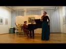 Юлия Шебалина речитатив и песня Ольги РНП Уж я старого седого 18 05 18
