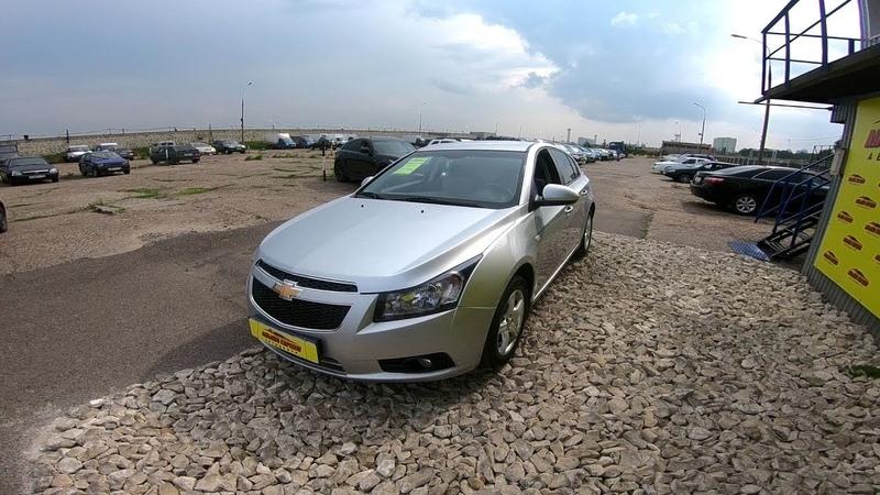 2012 Chevrolet Cruze 1.6L Тест-Драйв.