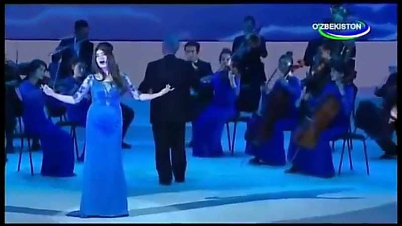 Шароф Рашидов 100 йиллигига багишланган концерт дастури wmv