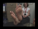 29 year old manager women candid sexy feet
