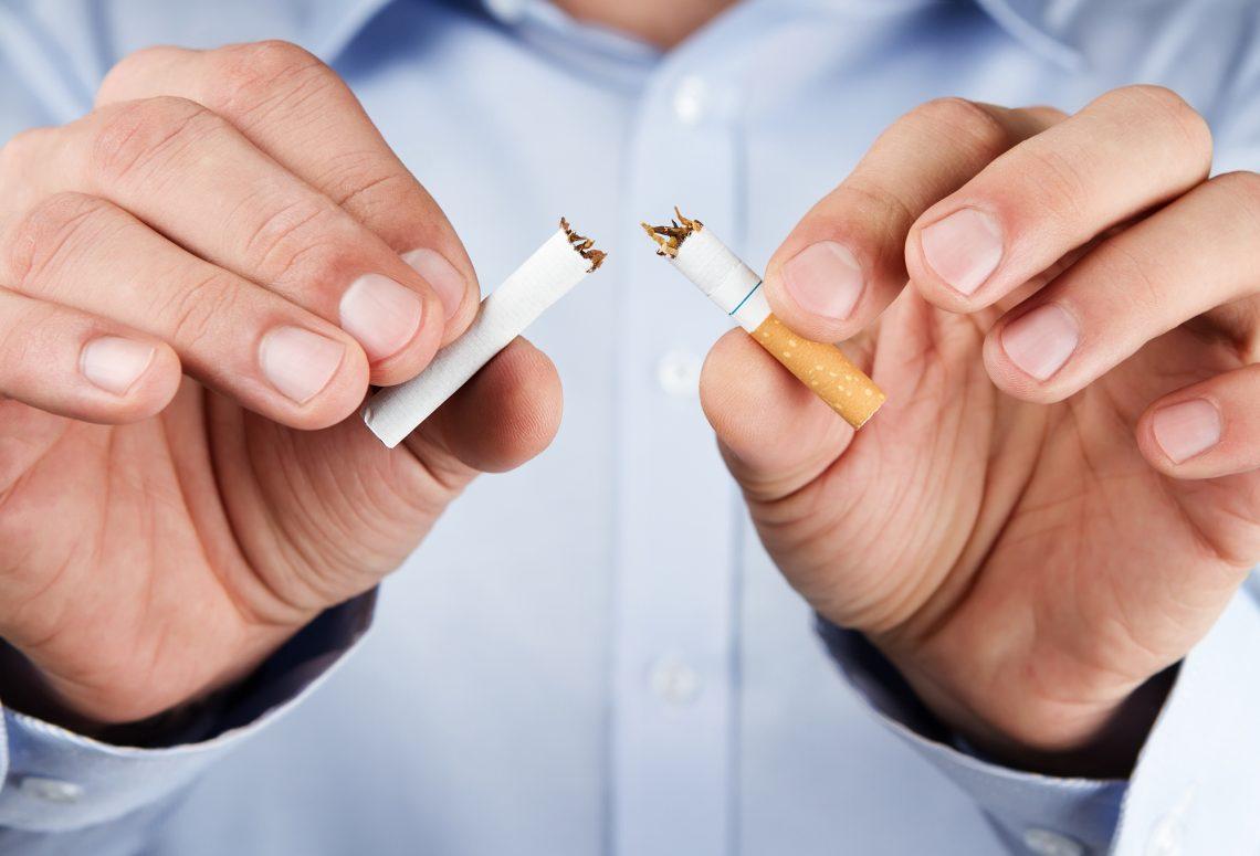 Использование лазерных лучей для остановки курения