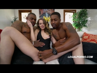 Первое двойное проникновение Jillian Janson First BBC DP only enjoy girl superstar Gape, Interracial, DP, A2M, Anal порно