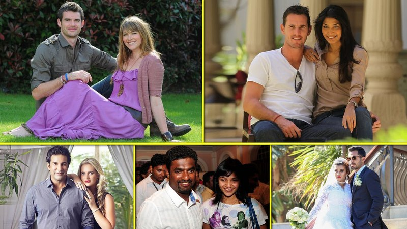 12 Famous International Cricketers Who Married Foreign Women || Cricketers Foreign Wives
