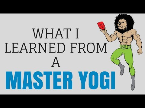 What I Learned From Master Yogi (Live The Good Life)