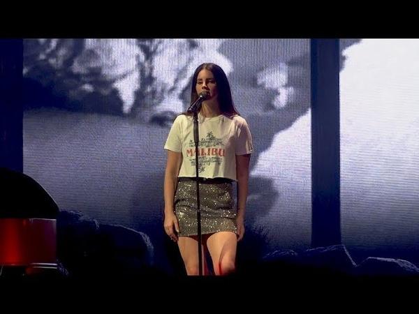 Lana Del Rey Cherry Live in Antwerp Belgium LA to the Moon Tour HD