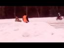 Мотогонки на льду 23.02.18 Шушь