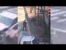 Terroranschlag in New York Zeigt wie der Attentäter von der Polizei gestellt wird