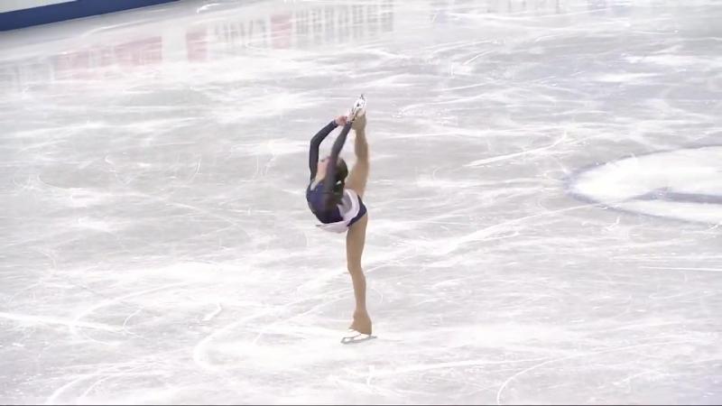 Anastasia TARAKANOVA RUS - ISU JGP Final - Ladies Feee Skating - Nagoya 2017