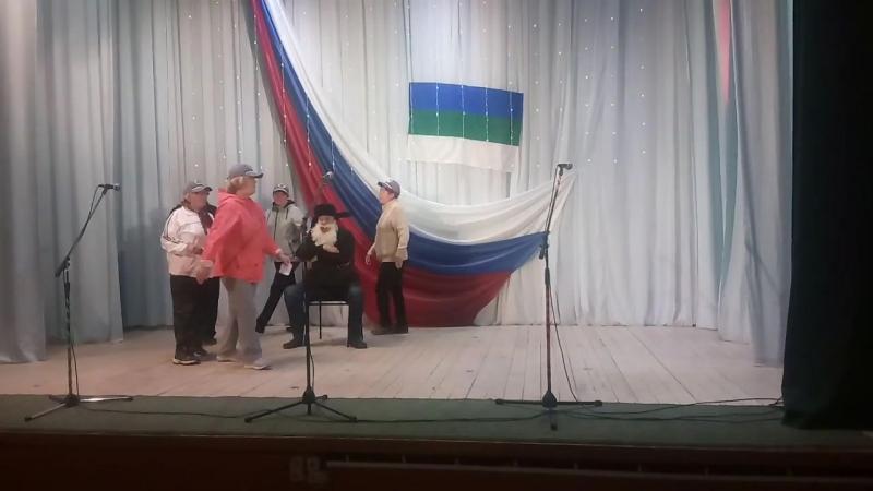 Выступление команды с.Усть-Вымь Вымичи