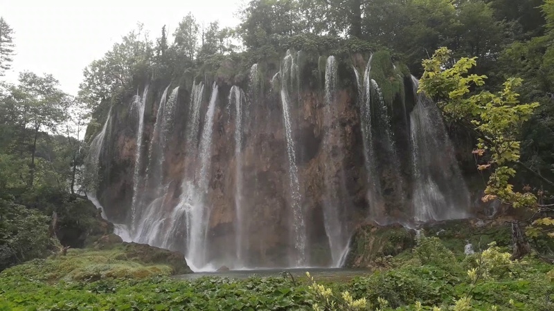 Plitvice Lakes National Park Croatia Плитвицкие озера Хорватия