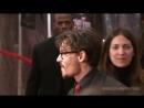 Джонни Депп и Тим Бертон на премьере фильма Суинни Тодд 2007 г. Нью Йорк