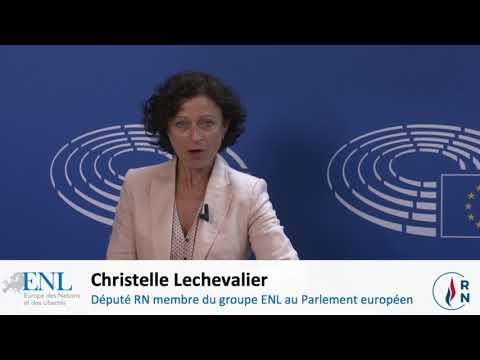 Christelle Lechevalier se rend à la frontière italienne pour dire stop à la submersion !