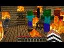 МЧС тушат пожар в городе с зомби апокалипсис в Майнкрафт! Пожарники и нуб против троллинг minecraft