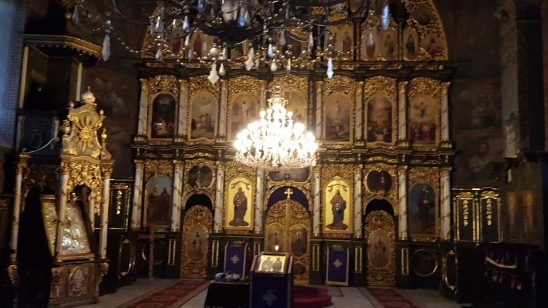 Мы в православном храме в городе Шабац