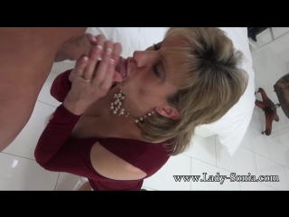 Lady sonia (a fan shoots his cum all over me part two) [milf, big tits, blowjob, 1080p]