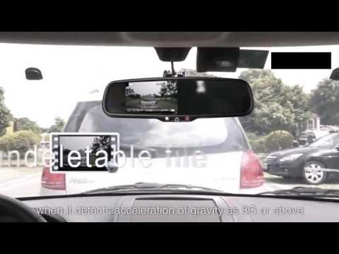 Зеркало Видеорегистратор от Car DVD Mirror