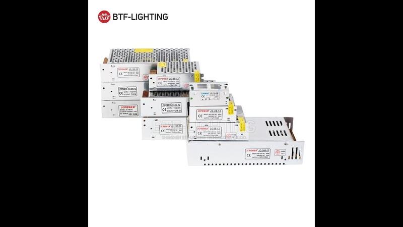Блок питания 12в 16А для видео-наблюдения и светодиодных лент