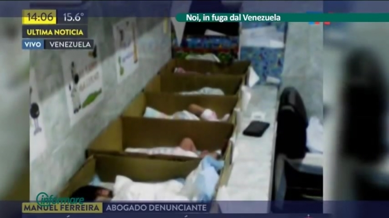INFORMARE - Noi, in fuga dal Venezuela