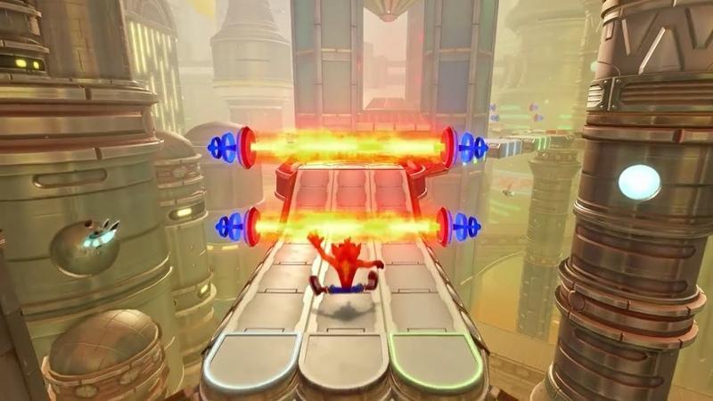 Crash Bandicoot N.Sane Trilogy - Future Tense (Gameplay)