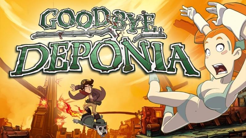 Goodbye Deponia 3 (Кривой Санстрайк)