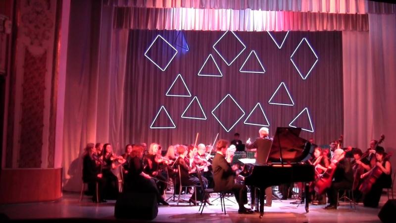 С.Прокофьев - Концерт №3 для фортепиано с оркестром, исполняет Ильдар Саубанов и Губернаторский симфонический оркестр