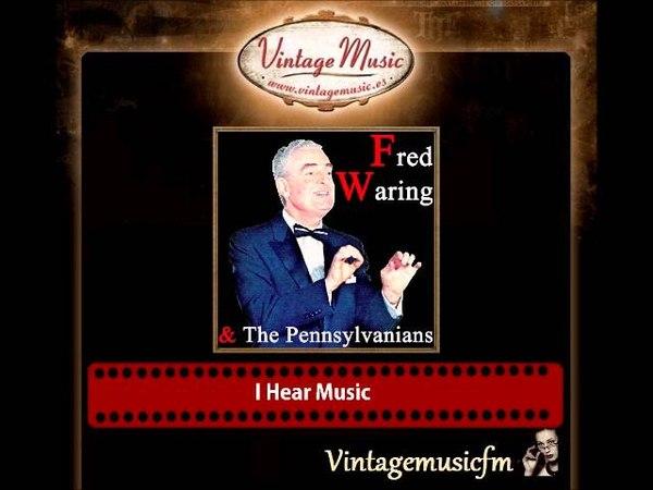 FRED WARING Pennsylvanians CD Vintage Jazz Swing. Hora Staccato , I Hear Music , Sleep