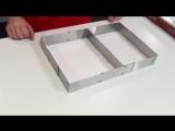 Внимание; Форма для выпечки регулируемая квадрат от 15 до 28 см , а круглая от 16 см до 30 см В наличии Квадратная форма для ф