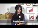 Camila talking about the choreographies she did as a kid for NRJ Radio
