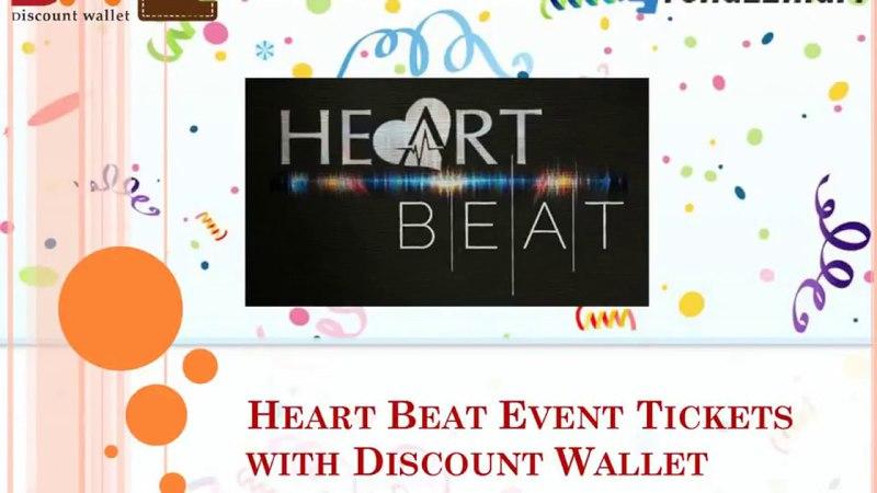 Heart Beat Event Tickets with Discount Wallet| Trendzz Mart