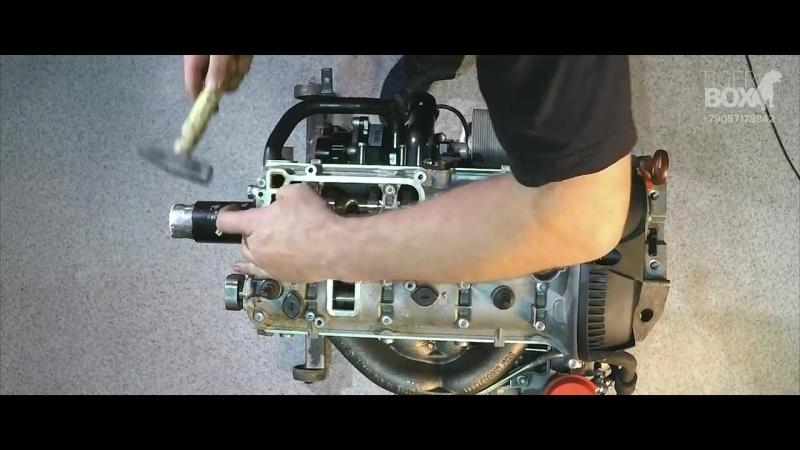 Капитальный ремонт двигателя. Полная сборка двигателя TSI VAG. Двигатель TSI