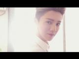180124 LuHan @ Photo-shoot Behind the Scenes