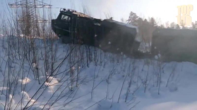 INCREDIBLE DT 30 RUSSIAN Crawler MONSTER OFF ROAD