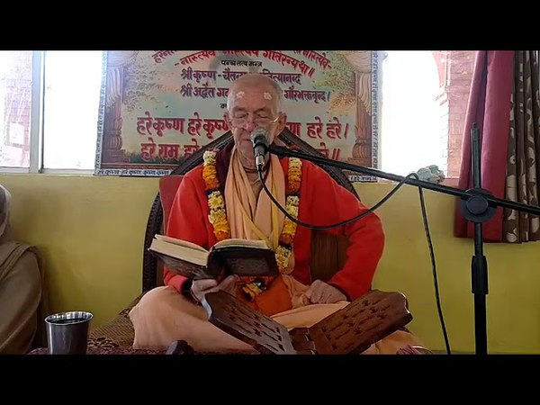 BVV Narasimha Swami, SB 1.13.10, Nepal 30.03.2018