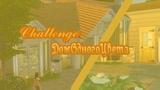 The Sims 4ДОМ В ОДНОМ ЦВЕТЕ - ЖЁЛТЫЙSolid Color ChallengeЦветной Базилик