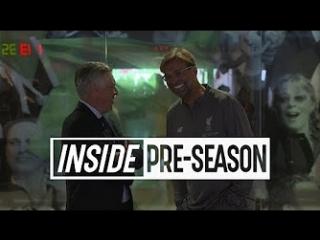 Inside pre-season  liverpool 5-0 napoli ¦ behind-the-scenes from dublin win