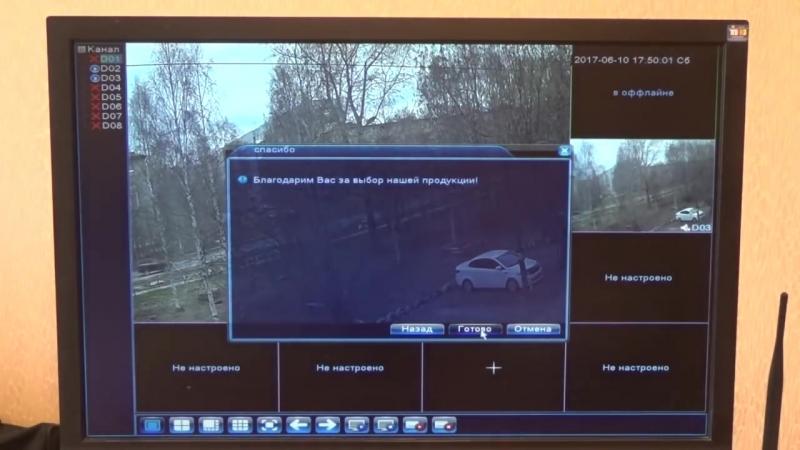 IP видеонаблюдение 2. Подключение IP камер через роутер