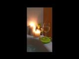 c&ampc romantic evening bath