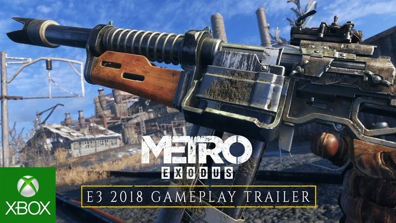 Metro Exodus E3 2018 Gameplay Trailer