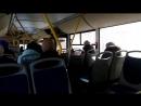 Автобус Волгабас маршрут №73(вид из салона) г Тольятти