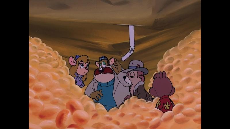Чип и Дейл спешат на помощь 2 серия 3 сезон Дутые спасатели