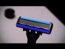 Сверхострая бритва для гладкого бритья Xiaomi H600 4 насадки и пена для бритья