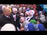 Путин на детской елке в Кремле